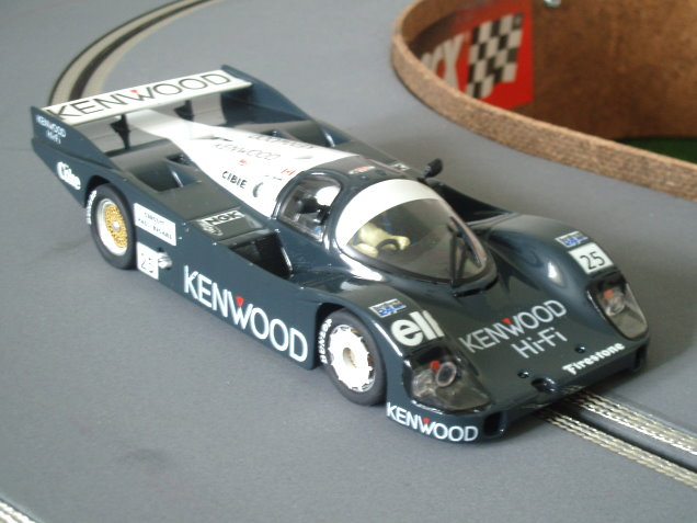 Porsche 956 grey Kenwood