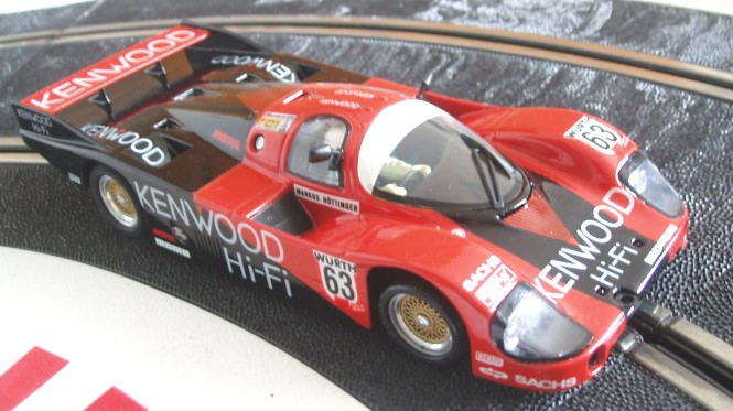Porsche 956 red Kenwood