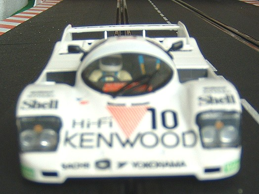 Porsche 962 white Kenwood